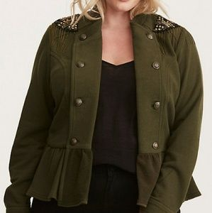 Great condition Torrid Military Jacket